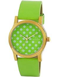 Maxima Analog Green Dial Women's Watch - O-50861LMLY