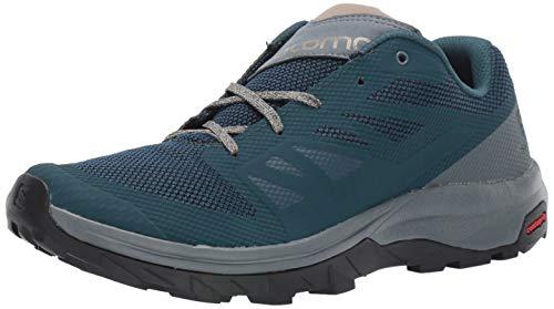 SALOMON Shoes Outline, Zapatillas de Senderismo para Hombre, Multicolor Reflecting Pond/Stormy Weather/Vint...