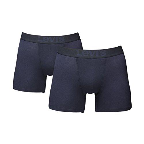 6 er Pack Levis Boxer Brief Boxershorts Men Herren Unterhose Pant Unterwäsche 824 - mid denim