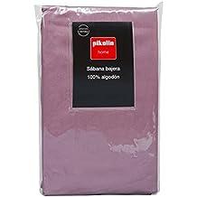 Pikolin Home - Sábana Bajera Ajustable con Faldón Extra Alto (45 cm), 100
