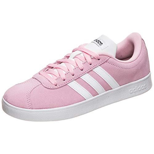 adidas Originals VL Court 2.0 Sneaker Kinder rosa/weiß, 35 EU - 2.5 UK - 3 US