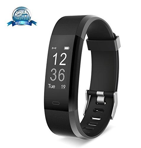 Fitness-Tracker von Yuanguo, Smart-Band, Fitness-Armband, schwarz