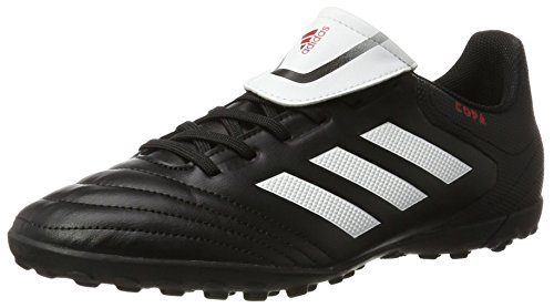 adidas Copa 74 Tf, Scarpe da Calcio Uomo Nero (Core Black/ftw White/core Black)