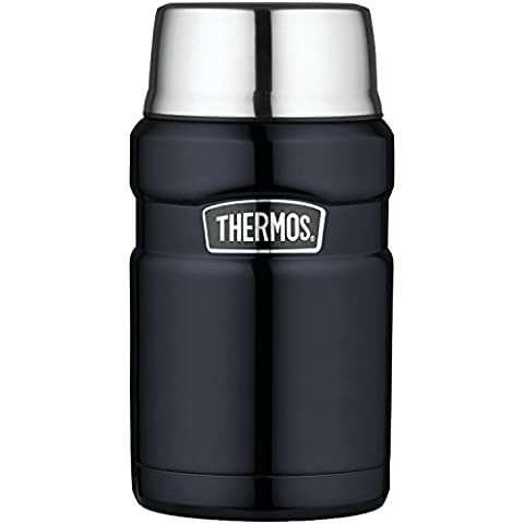 Thermos Stainless King 24-Ounce Food Jar, Midnight Blue by Thermos, L.L.C.