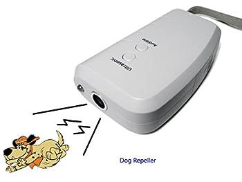 Lesypet Chien Repoussant, dresseur de chiens avec lampe led, écorce bouchon professionnel, Pas de Bark, Dispositif de protection, Puissant Dog ultrasons de dissuasion et de l'écorce Stopper, dispositif de formateur chien. fonctionne jusqu'à 50 pieds.