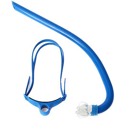 QXXNB Positiver Schnorchel Professionelles Schwimmen Training Schnorcheln Ausrüstung Schwimmen vorn Freestyle Schnorchel Single Diving Tube