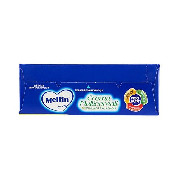 Mellin Crema Multicereali, Indicato per Infanti dal 4 Mese - 200 gr 5 spesavip