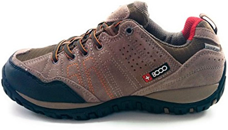 +8000 Tasmu Zapatillas Senderismo Trekking Montaña Hombre Impermeables  -