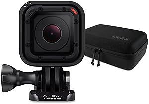 GoPro HERO Session Actionkamera (8 Megapixel, 38 mm, 38 mm, 36,4 mm) + GoPro Casey Camera Mounts Case (Wasserbeständig)