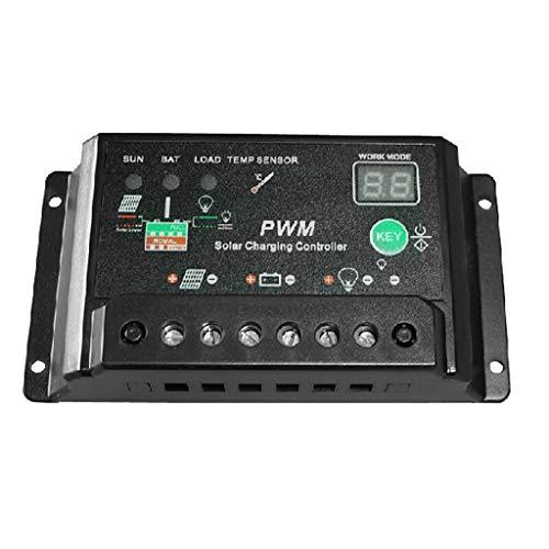 DS- Controlador solar Controlador Solar 12V24V10A Controlador de Sistema de alumbrado público Sistema de alimentación fotovoltaica &&
