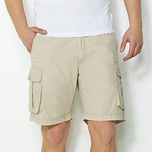 brand-new-mens-aeropostale-six-pocket-cargo-shorts-solid-colour