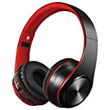 Bluetooth Kabellose Kopfhörer mit Mikrofon ,Noise Cancelling Hi-Fi Deep Bass Wireless Kopfhörer Kompatibel mit Smartphones Tablets, PCs, TVs, PCs