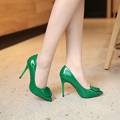 Moda Donna Sandali Sexy donna tacchi Primavera / Estate / Autunno / Inverno Comfort / Punta / punta chiusa Casual Stiletto Heel Orange