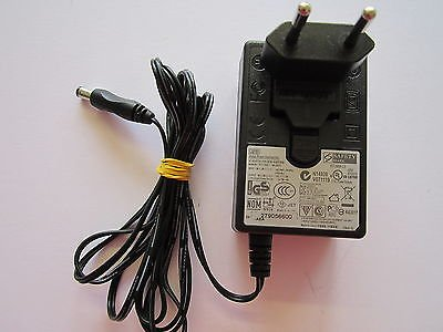 EU Plug 12V 2A AC Adapter Power Supply WA-24E12 Genuine Asian Power Devices