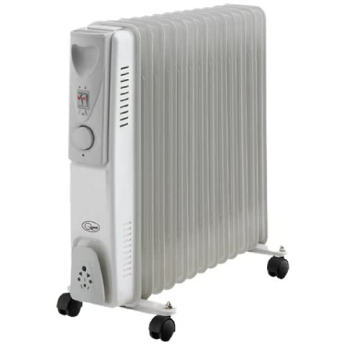 41lZTUzYxUL. SS500  - BENROSS 46770 13 Fin Oil Filled Radiator, Steel, Silver