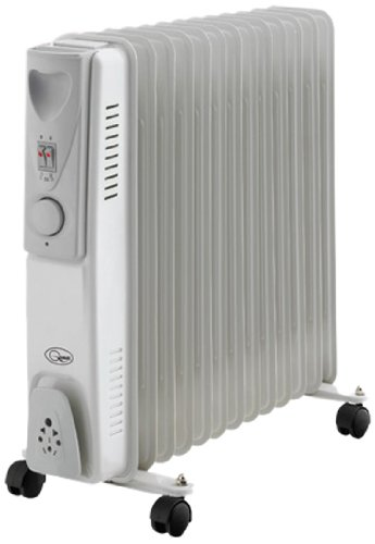 41lZTUzYxUL - BENROSS 46770 13 Fin Oil Filled Radiator, Steel, Silver