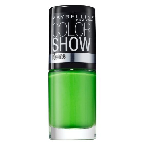 Maybelline New York Color Show 190 Green Zing, pack de 1 (1 x 7 ml)