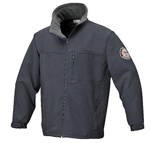 Soft-laminiert (Beta 9536L Soft Shell Jacke, 2lagig laminiert, Stretch, Fleece, 290g/m², groß, grau)