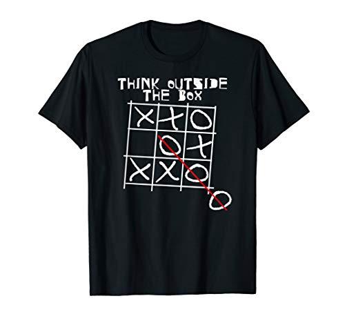 Think Outside The Box I Besonders I Einzigartig Tik Tak Toe - Think Green T-shirt