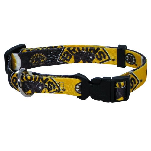 hunter-mfg-boston-bruins-dog-collar-extra-small