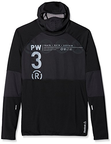 Reebok Oberbekleidung OS Scuba Hoody, schwarz, M, AA8339 Frauen Reebok Sweatshirt