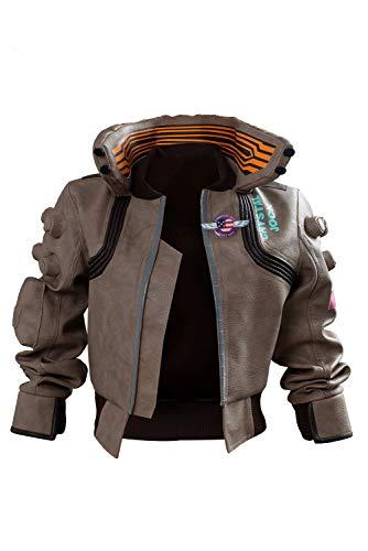 Kostüm Cyberpunk - MingoTor Cyberpunk 2077 Mantel Cosplay Kostüm Damen L