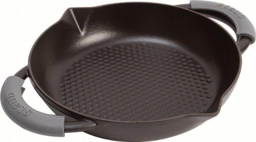 Staub 1223823 - Sartén, 2 asas, 32 cm, color negro