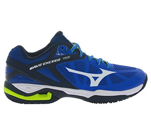 Chaussures Homme Mizuno Wave Exceed Tour Bleu PE16 blue