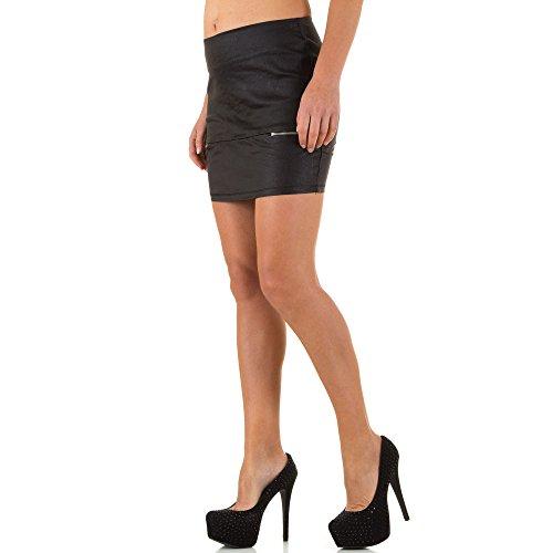 iTaL-dESiGn - Jupe - Culotte - Femme Noir