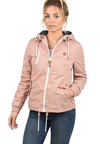 DESIRES Tilda Damen Übergangsjacke Jacke gefüttert mit Kapuze, Größe:XL, Farbe:Mahog. Rose (4203) - 2