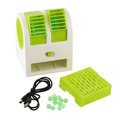 Orpio Mini Portable Usb Operated Fan(Green)