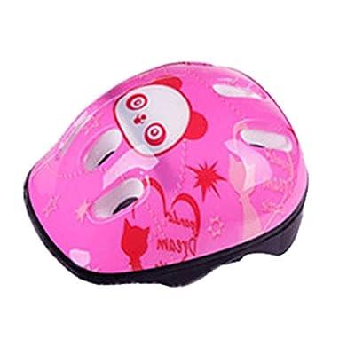 Sumeber Sport Helmet for Kids Panda Bicycle Helmet Kids Girls Pink 52-56cm from Sumeber
