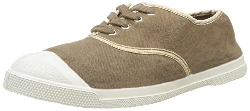Bensimon Tennis Shinnypiping, Baskets Basses Femme Beige (1183 Cuivre/Beige)