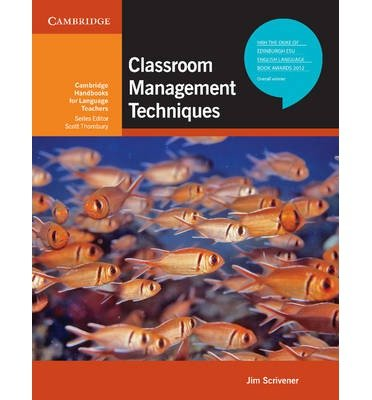 [(Classroom Management Techniques)] [Author: Jim Scrivener] published on (March, 2012)