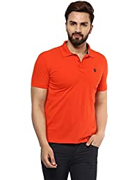 Mufti Polo Plain Half Sleeves T-Shirt