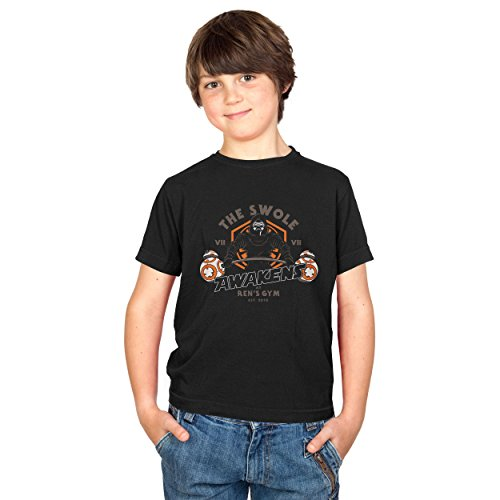 TEXLAB - The Swole - Kinder T-Shirt, Größe XL, schwarz