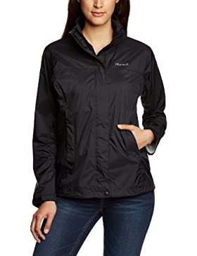 Marmot Jacke Precip - Cortavientos para mujer, color negro, talla XL