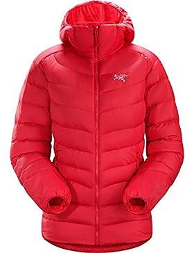 Arc 'teryx torio AR, Chaqueta mujer con capucha, rojo (Radicchio), L