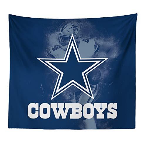 Hele Top Wandteppich, bunt, Bedruckte Wandteppich, für echte Fans, Dekoration, 130 x 150 cm, Weben Souvenir Shake Flagge Medium Dallas Cowboys - Cowboy-heels