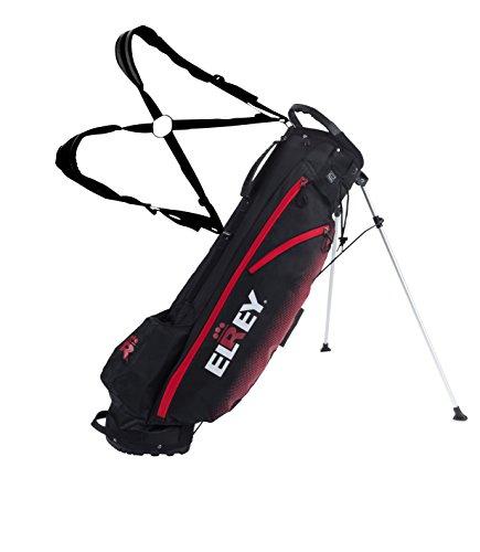 Elrey Golf 7 Inch Lite Stand Bag Multi Colour (Black/RED)