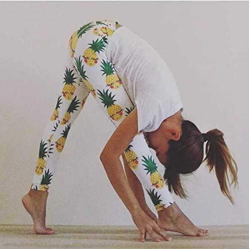 EAFALO Yogahosen Frühling Und Sommer Mode Schlanke Fitness Yoga Kleidung Gedruckt Yoga Hosen Stretch Schnell Trocknende Yoga Hosen Hosen Hosen Hosen -
