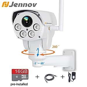 Jennov Full Hd 2 0mp 1080p Wifi Ip Wireless Security