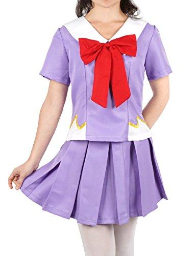 CoolChange Mirai Nikki Cosplay Kostüm Schuluniform von Yuno Gasai, Größe: (Gasai Yuno Cosplay Kostüm)