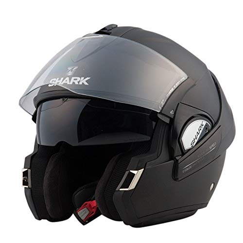 Shark Casco, color Negro, talla M