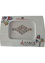 Anmol Virasat Multicolor Medium Size Round Bindis