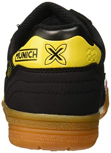 Munich Unisex-Kinder Gresca Kid 02 S Fitnessschuhe, Schwarz (Negro/Amarillo), 37 EU