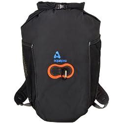 AquaPac Rucksack Wasserdicht Wet und Dry Backpack, Schwarz, 60 x 45 x 30 cm, 35 Liter, 789