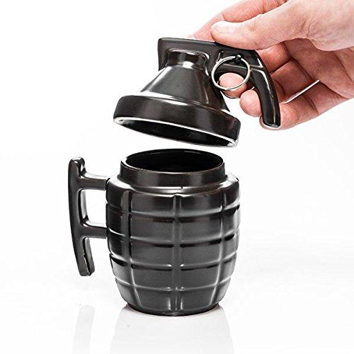 Tazza Grenade mug - con sicura in metallo come una vera Bomba!