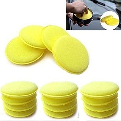 Waxing Polish Wax Foam Sponge Applicator Pads for Clean Cars Vehicle Glass