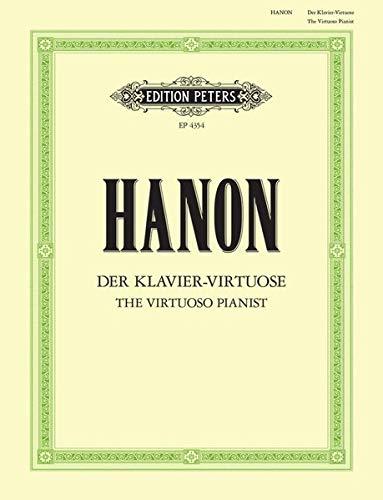 Der Klavier-Virtuose: Neue und durch Ergänzungsübungen erweiterte Ausgabe (Grüne Reihe Edition Peters) (Klavier Virtuose)